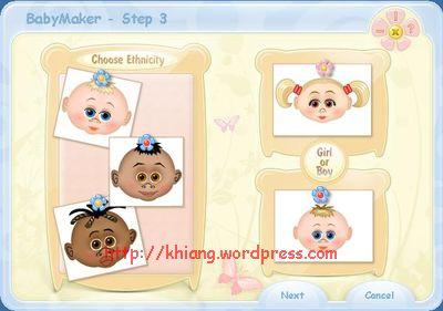 pilih etnis & jenis kelamin calon bayi ...