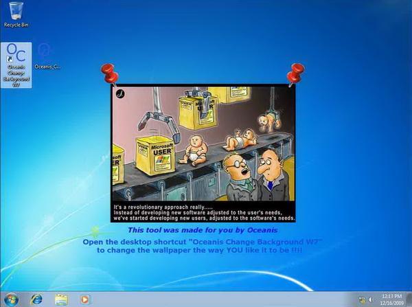 Ganti Wallpaper Windows 7 Starter Di Netbook Aspire One